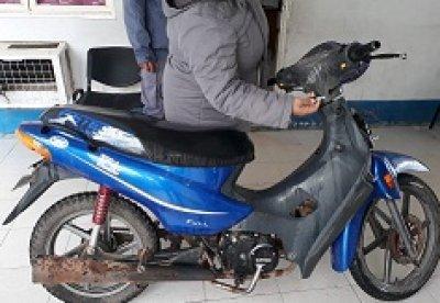 roban moto en Charata pero es rápidamente recuperada por la policía