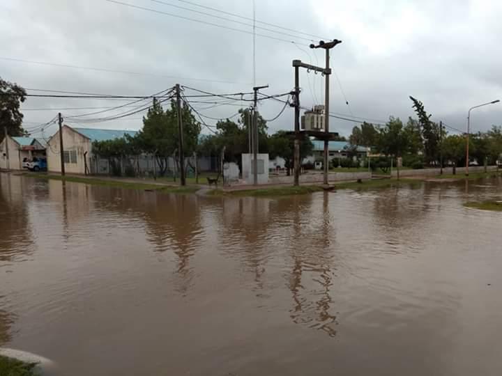 Inundaciones en Charata