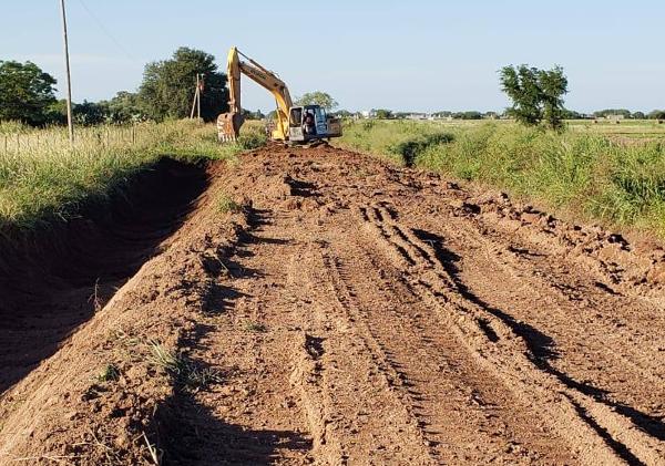 Trabajos de APA en zona rural de Charata