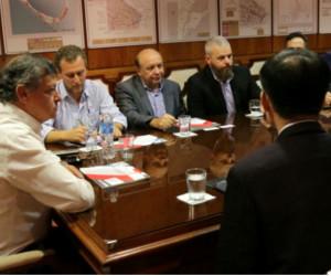 Domingo Peppo se reunió con empresarios coreanos interesados en invertir en Chaco.