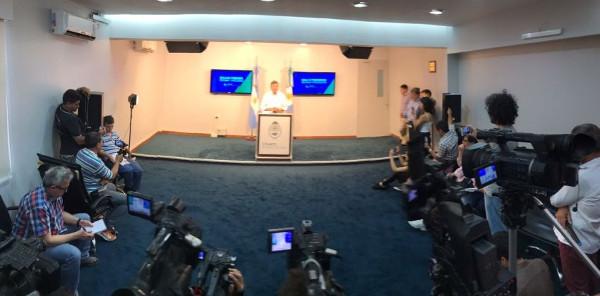 Domingo Peppo anunciado cambios en su gabinete
