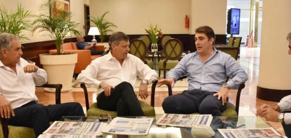 Peppo se reunió con el administrador general de Vialidad Nacional.