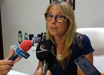 Maria Luisa Chomiak, intendente de Charata