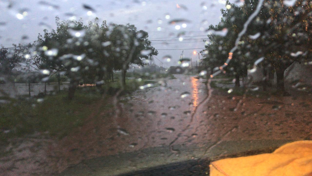 Lluvias en el Sudoeste del Chaco