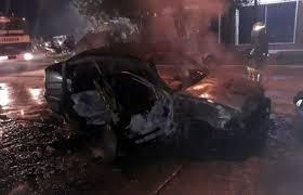 Polo se incendié en Charata