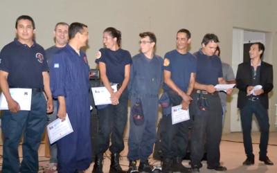 Bomberos Voluntarios de Charata, reconocidos por el Municipio