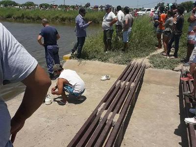 Búsqueda de un joven ahogado en Gancedo.
