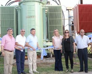 Inauguran un transformador de Secheep en Charata