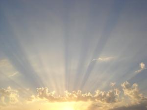 Martes frío y con sol en Charata