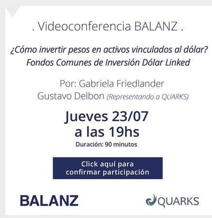 Videoconferencia BALANZ QUARKS INVERSIONES