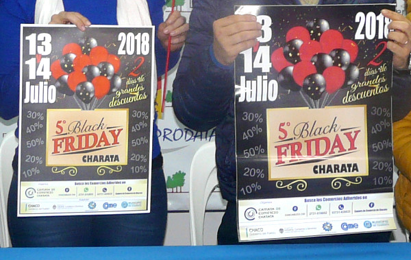 Quinto Black Friday en Charata