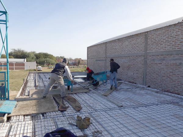 Obras necesarias para el cuartel de bomberos voluntarios de Charata