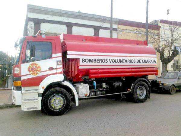 Nueva autobomba para los Bomberos Voluntarios de Charata