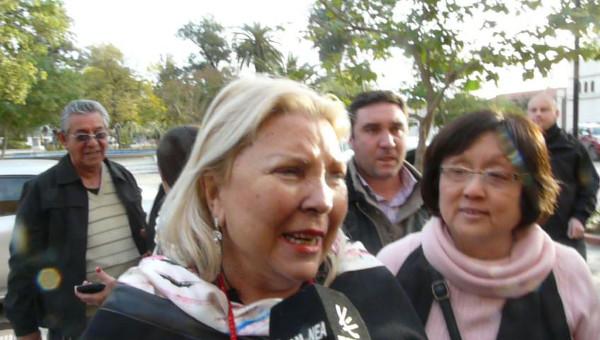 Elisa Carrió habló sobre las PYMES exportadoras en Charata