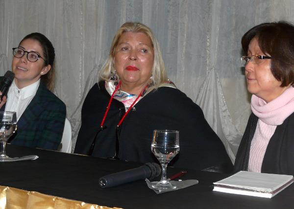 Elisa Carrió hablo de las Pymes y el objetivo de exportar en Charata