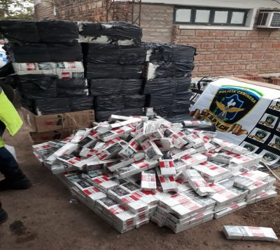 secuestro de 15.000 atados de cigarrillos