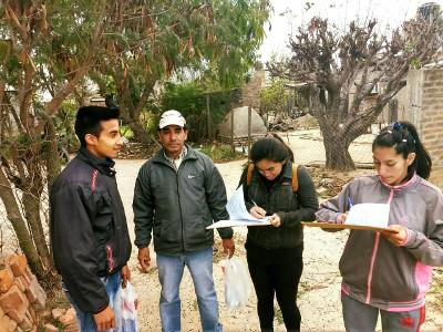 Control de Vectores en Barrios de Charata