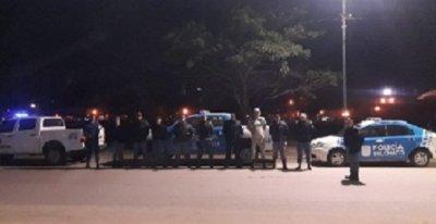 Operativo de prevención de la Policía del Chaco en Charata