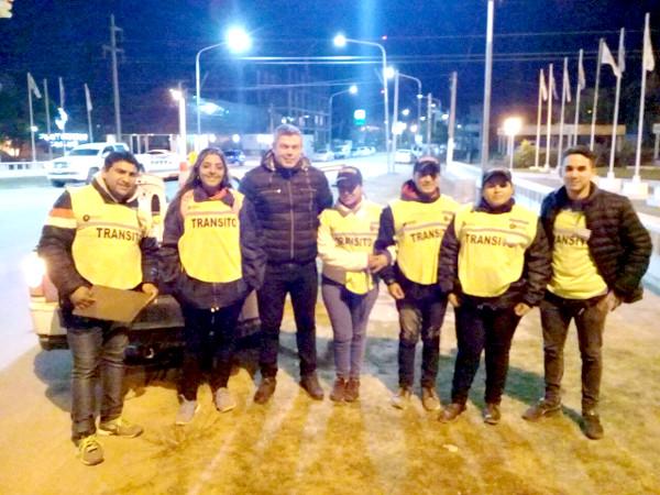 Personal de Tránsito del municipio de Charata