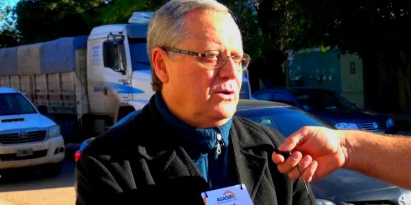 Jorge Ingaramo de Asagir, analizando el mercado de girasol, entrevistado por la Revista Agropecuaria Nuevo Siglo.