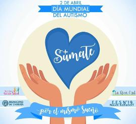 Dia Internacional del Autismo, actividades en Charata