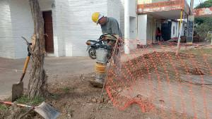 Instalación de redes finas de agua potable en Charata
