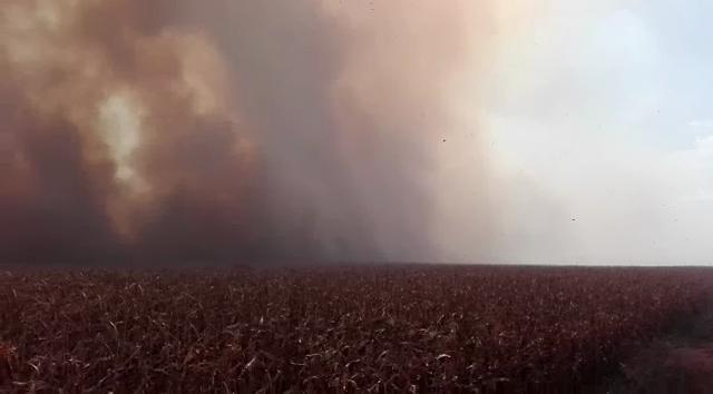 Incendios rurales generan preocupación también en zonas periurbanas de Chaco y Santiago del Estero.