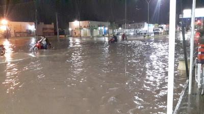 Lluvias en el inicio de mayo en Chaco