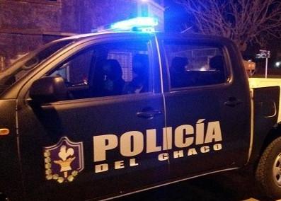 Polciiales en Charata