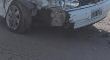 choque de Gol de la ciudad de Charata con camión en Las Breñas
