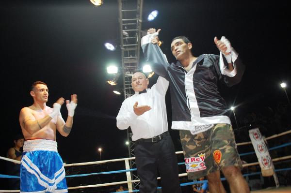 Boxeo en Charata, Orellana cayó ante Mamani