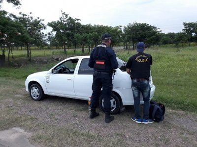 Remiseros de Charata detenidos con dos kilos de cocaina