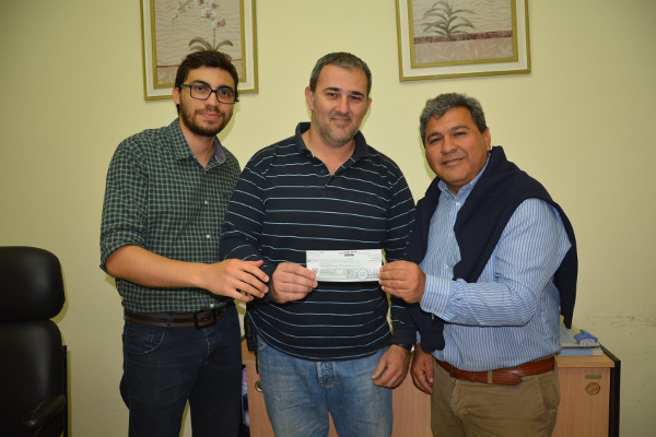 Subsidio provincial a Bomberos Voluntarios de Charata