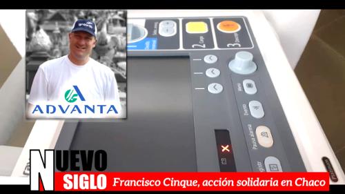 Entrevista a Francisco Cisque, Advanta entregó equipos a los hospitales de Charata y Corzuela en Chaco