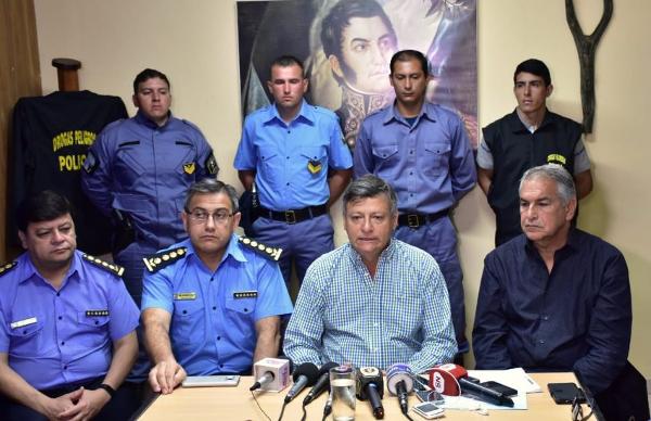 secuestro de drogas en la Isla del Cerrito, Chaco